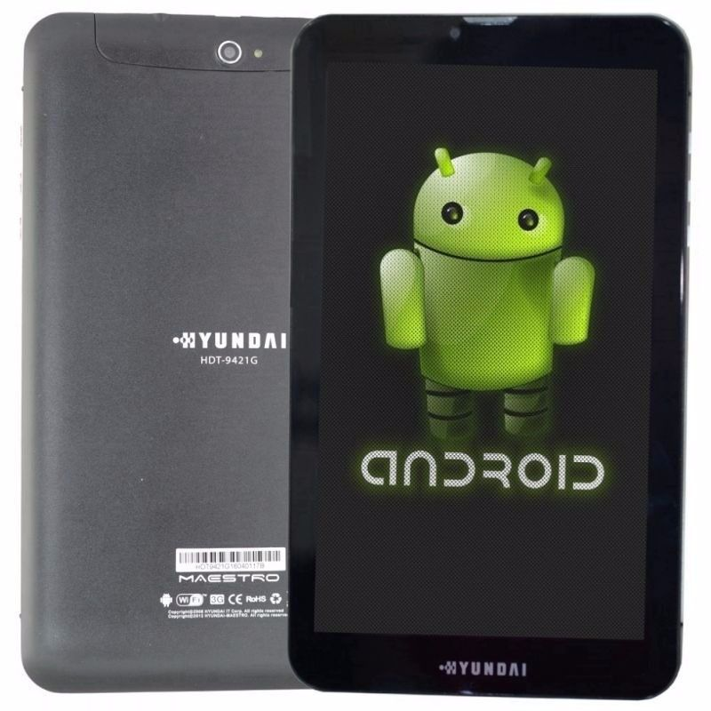 Tablet Tela 9'' 3g Hd Android 6.0 Preto 16gb Hdt-9421
