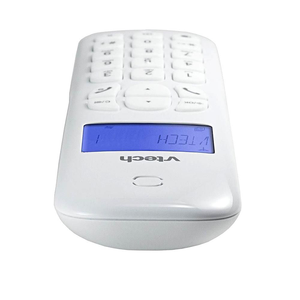 Telefone Digital Sem Fio Vtech VT680W Com Id.Chamadas Branco