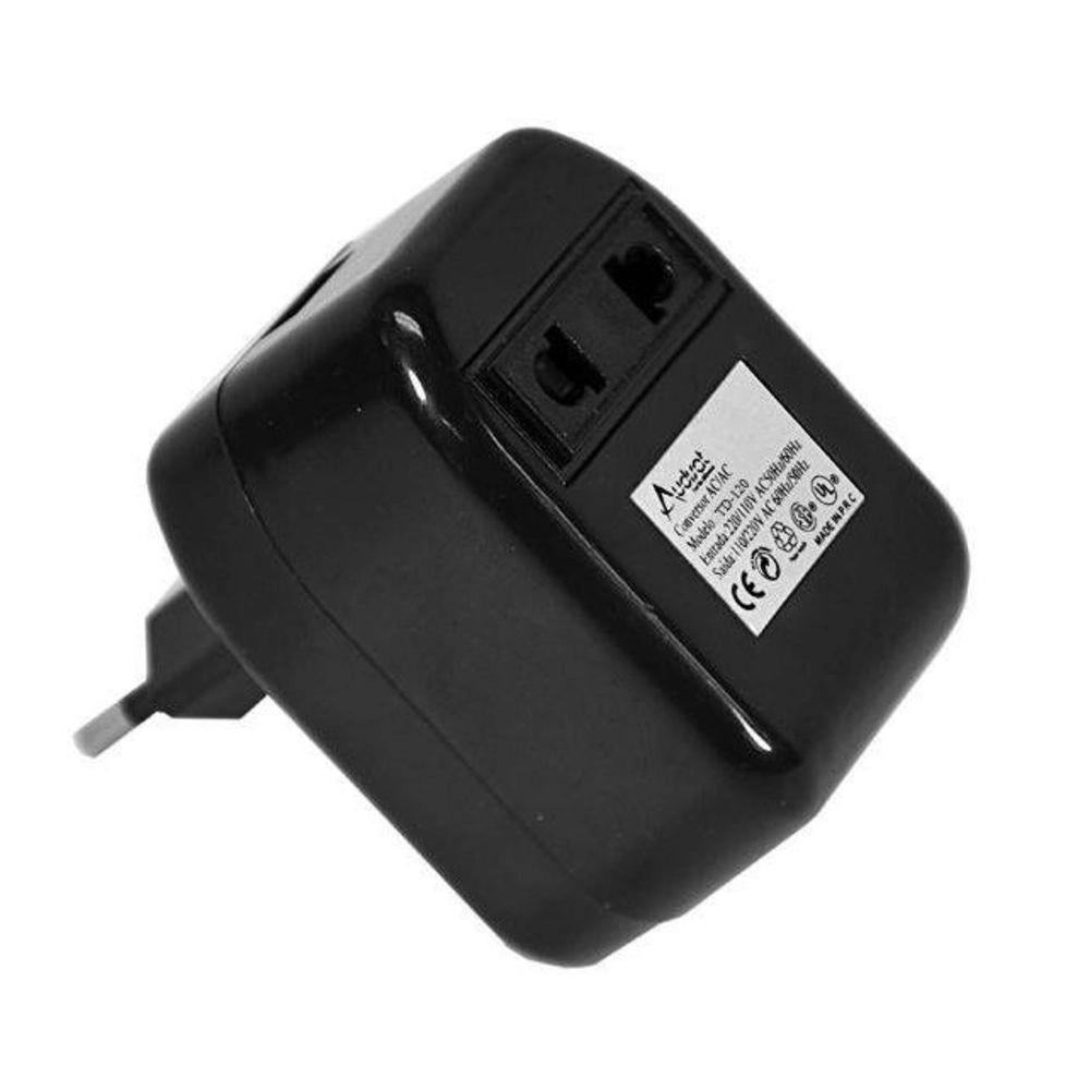 Transformador De Voltagem 50w Audisat Td-120 110/220v
