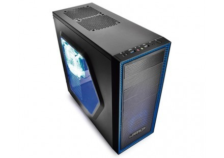 Warrior Miwok Gabinete Gamer C/3 Cooler Led Ga134