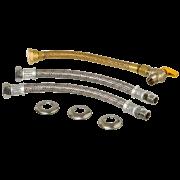 Kit flexivel para instalação de aquecedor 30cm 1/2