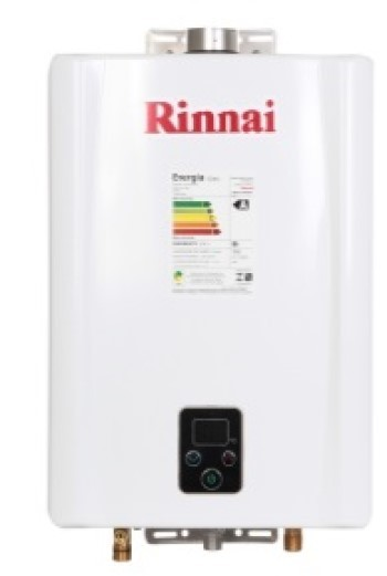 Aquecedor a Gás E17 Rinnai - 17 litros
