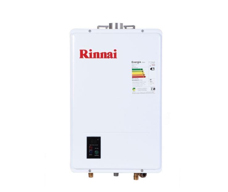 Aquecedor a Gás REU-1602 FEH Rinnai  - 22,5 litros