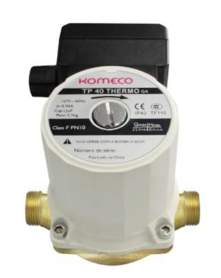Mini Bomba de Recirculação TP40 Thermo - Komeco