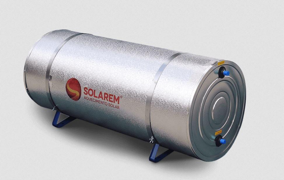 SOLAREM - BOILER BAIXA PRESSÃO 400 A 600 LITROS