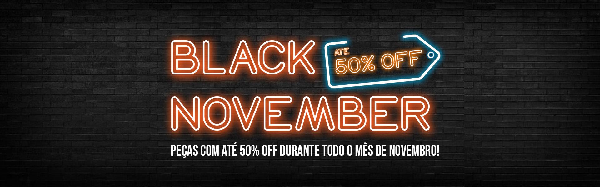 Black November Âmbar Original
