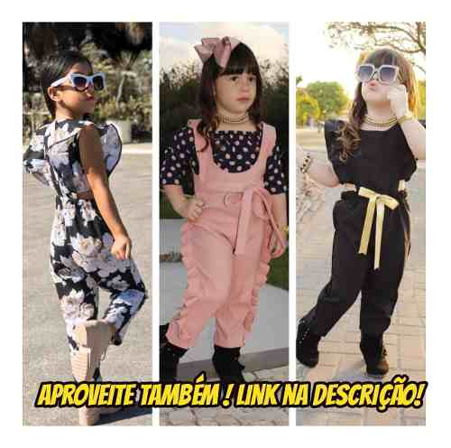 Kit 2 Roupa Infantil Blogueirinha Mini Diva