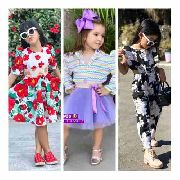 5 Roupa Infantil Mini Diva Blogueirinha De Luxo