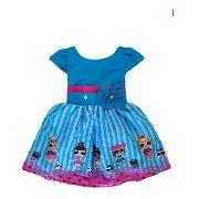Vestido De Menina Da Lol Infantil Temático