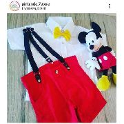 Roupa Fantasia Temática Do Mickey Mouse Disney