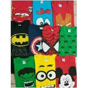 Kit 100 Camisas Infantil De Personagens E Super Heróis Kids