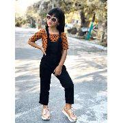 Roupa Infantil Blogueirinha Mini Diva Lindo Macacao