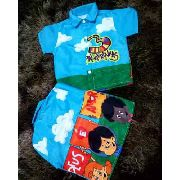 Camisa Infantil Temática Social 3 Palavrinhas