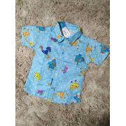 Camisa Infantil Temática Social Galinha Pintadinha