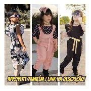 Kit Com 10 Roupa Infantil Mini Diva Luxo