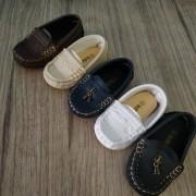 Sapato mocassim infantil social para menino