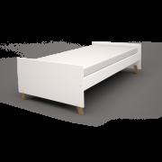 Cama Sofa Isis Simples - Branco  - JC Moveis