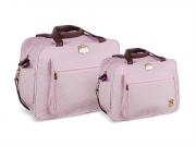 Conjunto Bolsa e Frasqueira Infant - Rosa