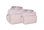 Conjunto Bolsa e Frasqueira Luxo - Rosa