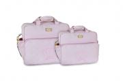 Conjunto de Bolsa e Frasqueira Cloe - Rosa