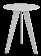 Mesa Retro -  Branco - Móveis Peroba