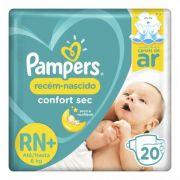 Pampers Confort Sec RN - 20 Fraldas