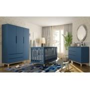 Quarto Completo Smart Baby - Azul  - Fiorelli