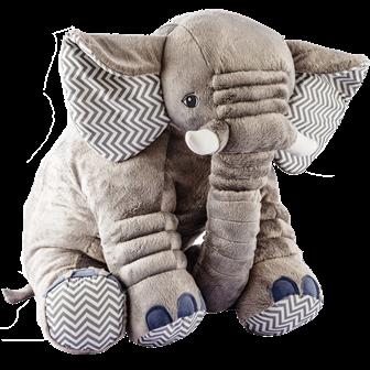 Almofada Elefante Amarela M