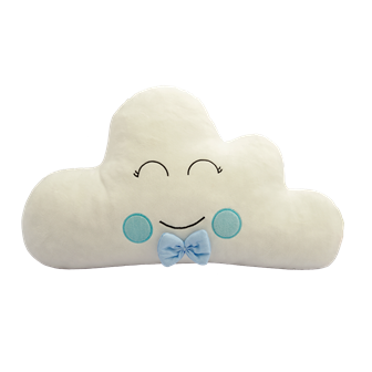 Almofada Nuvem - Azul Bebê
