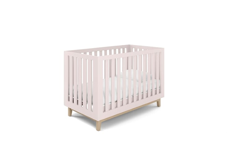 Berço Smart Baby - Pé Artesanal - Rosa