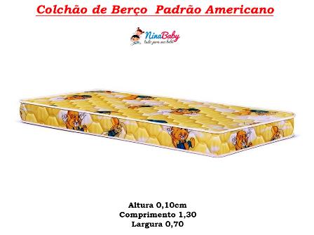Colchão Padrão Americano - 10cm
