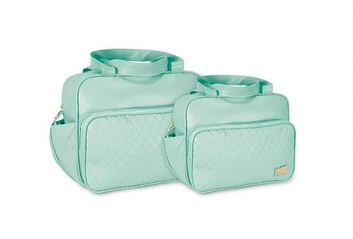 Conjunto Bolsa e Frasqueira Luxo - Verde