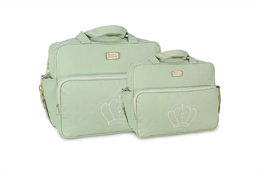 Conjunto de Bolsa e Frasqueira Cloe - Verde