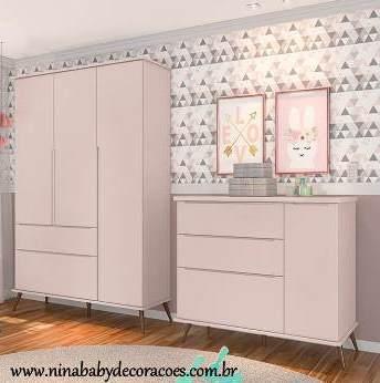 Conjunto Melinda - Rosê Phoenix Móveis