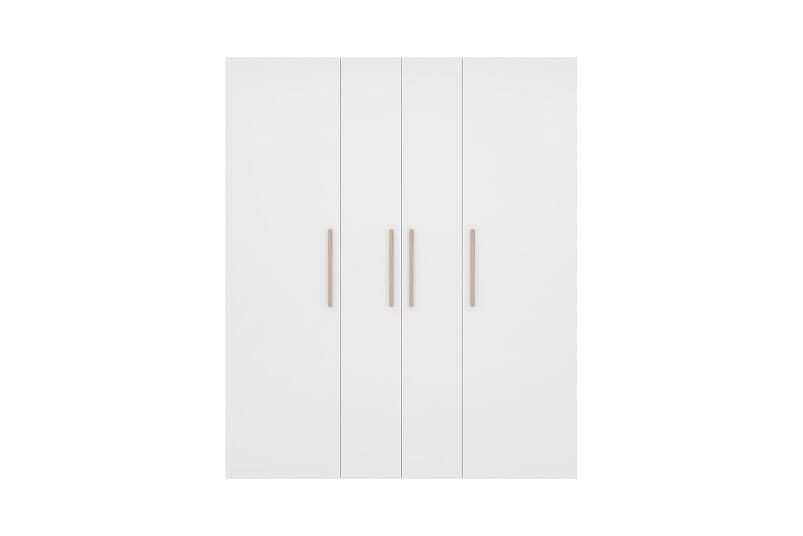 Guarda Roupa Luna - 4 portas Branco