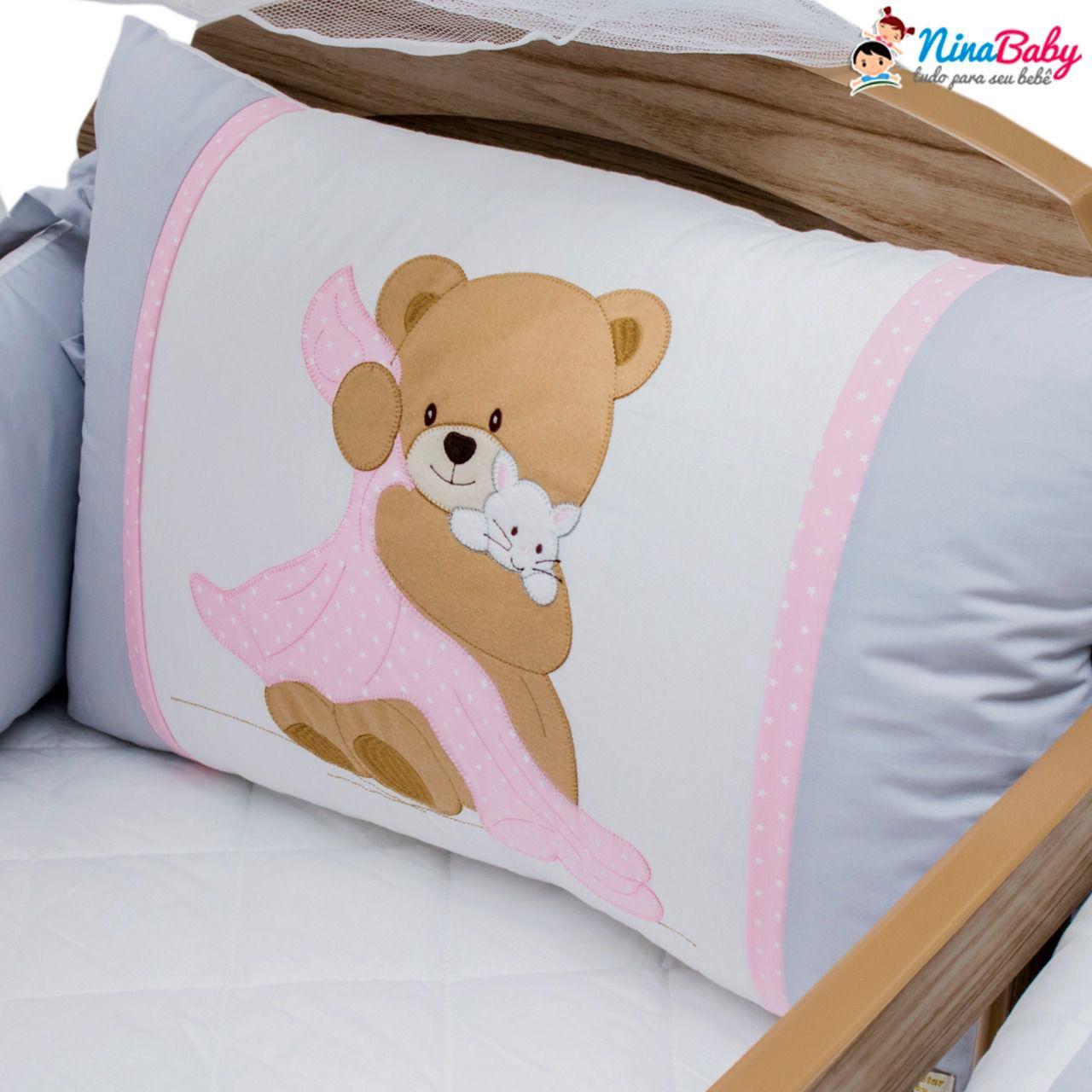 Kit Berço Ursa Dorminhoca