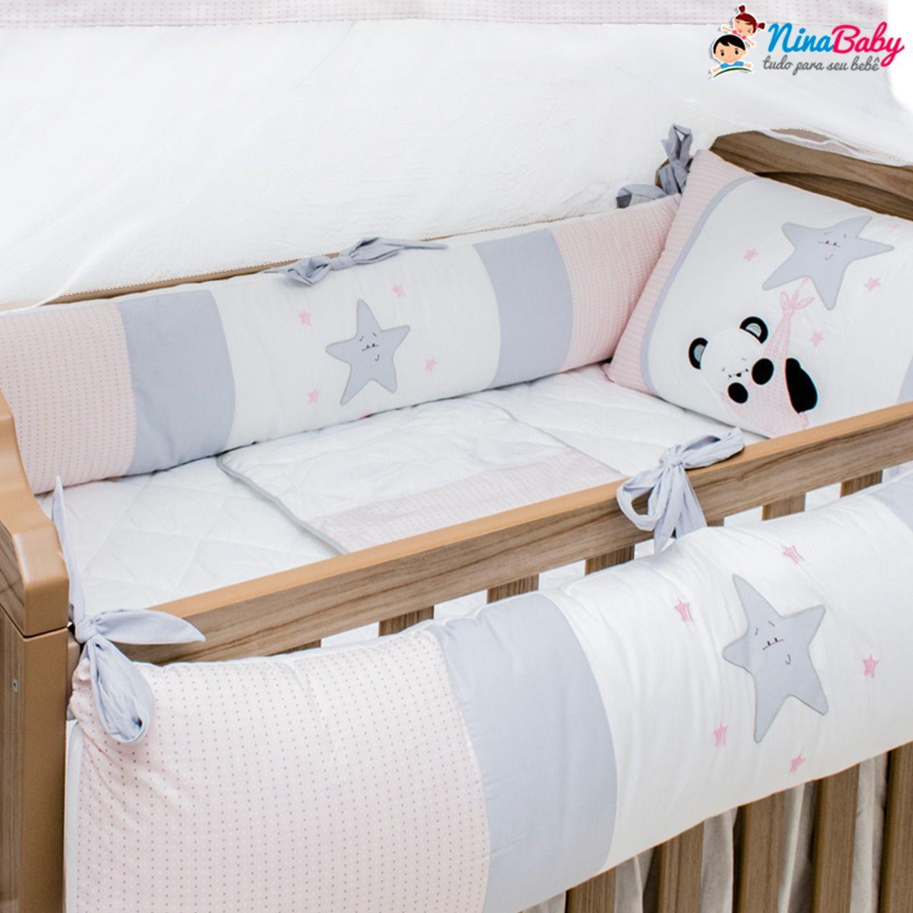 Kit Berço Ursa Panda