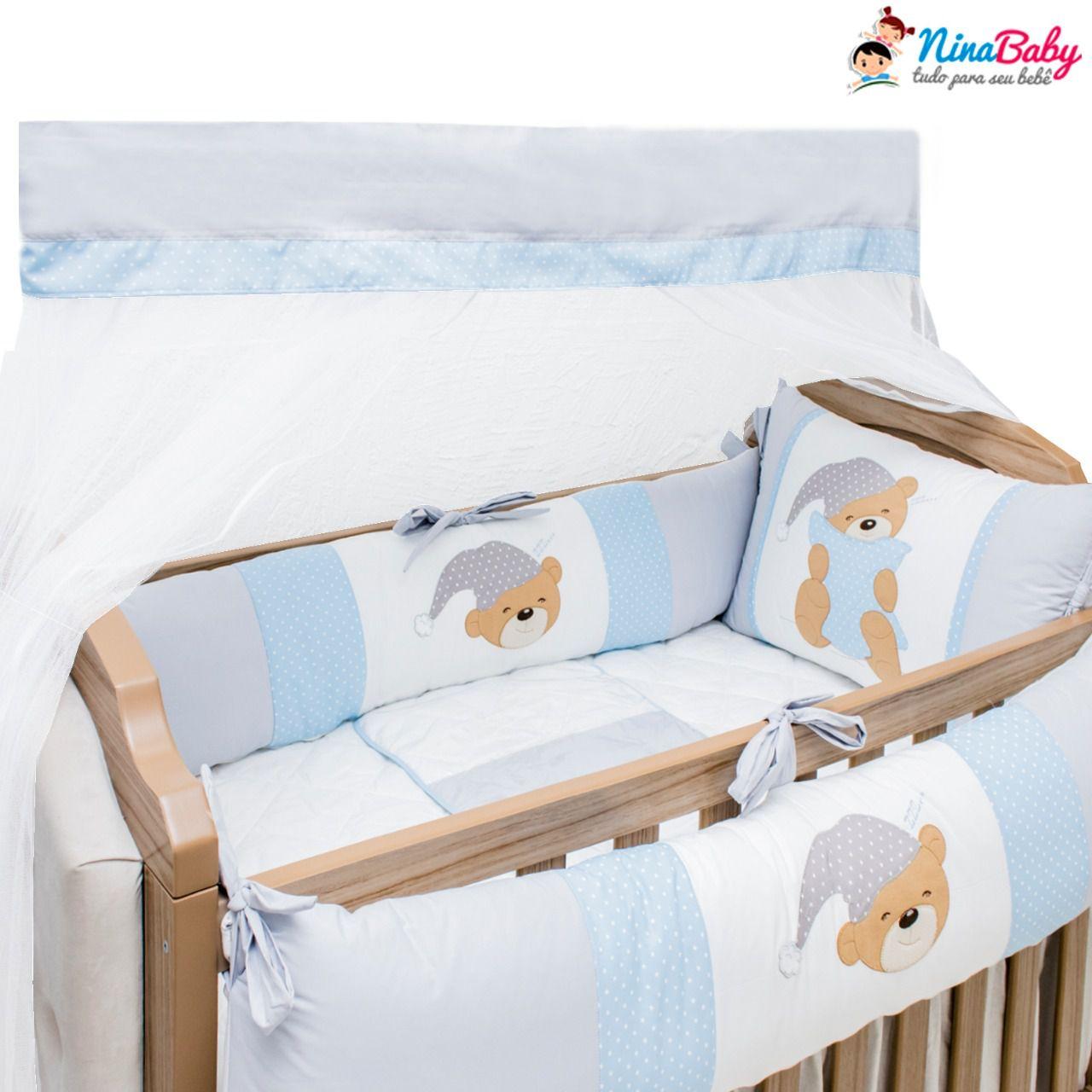 Kit Berço Urso Dorminhoco