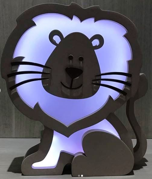 Luminária Leão
