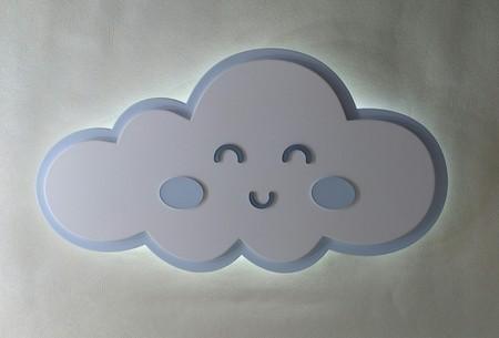 Luminária Nuvem - Azul