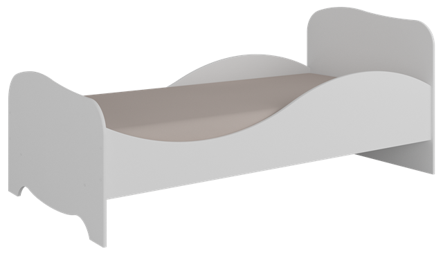 Mini Cama Uli - Branco Peroba Moveis
