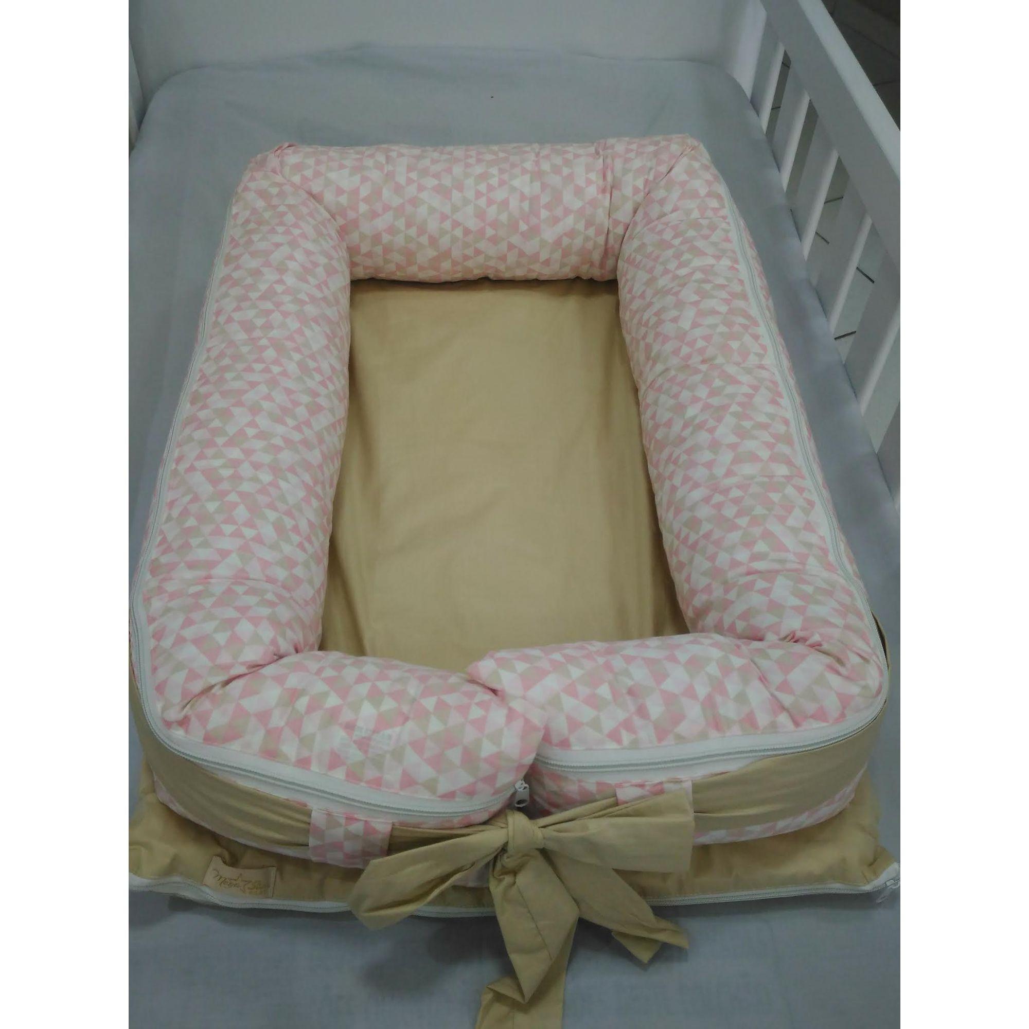 Ninho Redutor para Bebê Rosa