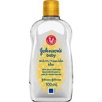 Óleo Johnsons Liquido - Recém Nascido - 100ml