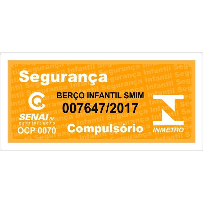Quarto Completo Bolinha com Berço Smim - Carvalho Peroba Móveis