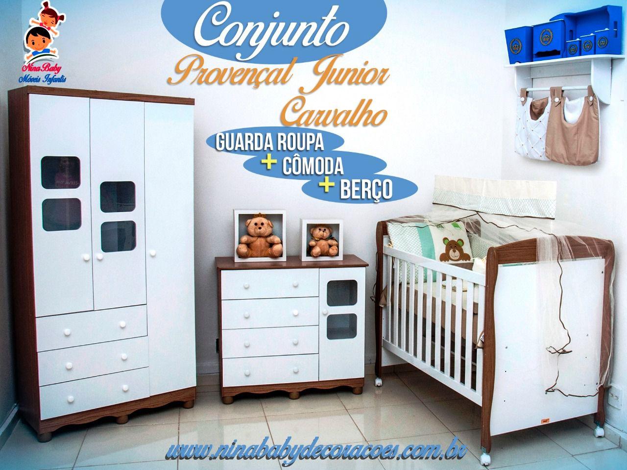 Quarto Completo Provençal Junior - Carvalho Peroba Móveis