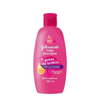 Shampoo Johnsons  Gotas de Brilho - 200ml