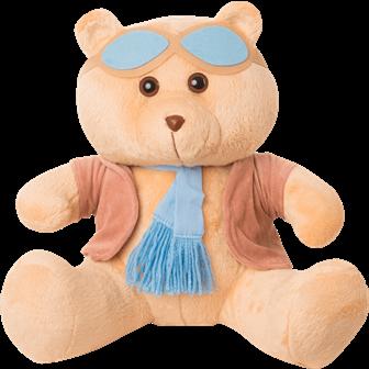 Urso Aviador - Mini