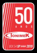 ADESIVO TONIMEK 50 ANOS