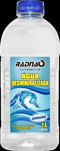 ÁGUA DESMINERALIZADA / DEIONIZADA | 1 L