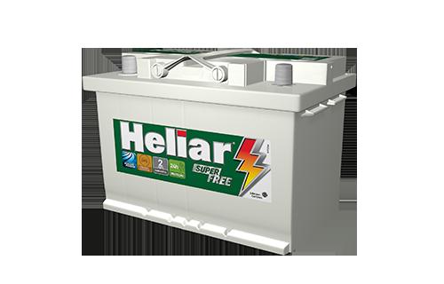 BATERIA HELIAR SUPER FREE 70 AMPERES (HF70ND) | À base de troca